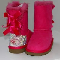 LUXURY UGG Baily Bow for...