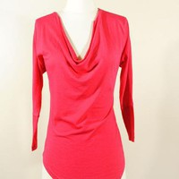 Bobi cowl neck tee.  www.leeandbirch.com