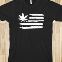 Weed Nation (Distressed) - wackyworldofweed