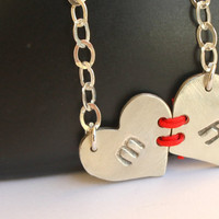 Personalized Jewelry Visible Commitment Heart to by meltemsem