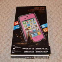 LIFEPROOF CASES FOR IPHONE 4/4S IN PINK