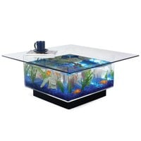The 25 Gallon Aquarium Coffee Table.