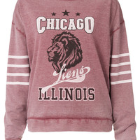 College Chicago Sweat - Topshop