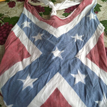Confederate Flag Tank Tops