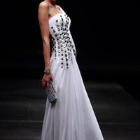 Beaded Evening Dress by Svetlana