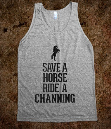 Save a Horse Ride a Channing - Awesome fun #$!!*&amp;