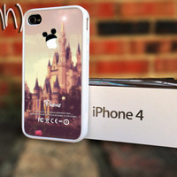 Disney iPhone 4 or 4S Case - Disney Themed iPhone Custom Mickey Mouse Case