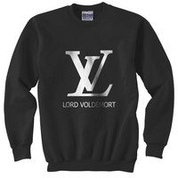 LV - Lord Voldemort Harry Potter Gildan Crewneck Sweatshirt  S to 2XL