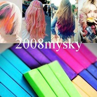 12 PCS Temporary Hair Ch...