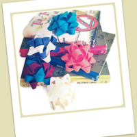 3 Felt Gift Bows Of Your Choice on Luulla