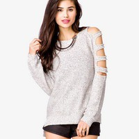 Cutout Sequined Pullover Sweater | FOREVER 21 - 2054269880
