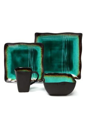 Baum Brothers Galaxy Jade 16 Pc Set - Belk.com