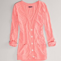 AE Lightweight Boyfriend Cardigan | American Eagle Outfitters