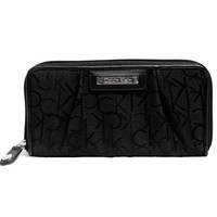 Calvin Klein? Signature Black Zip Wallet Clutch