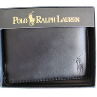Ralph Lauren? Polo Genuine 405070185001 leather Wallet
