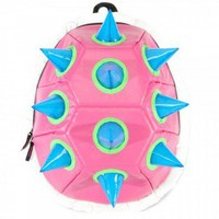 Blue Spiked Pink Shell Backpack