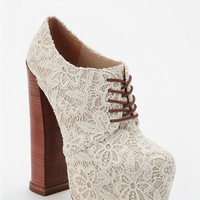 DV8 By Dolce Vita Lace Flower Platform Pump