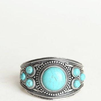 Zilin Turquoise Bracelet - $25.00 : ThreadSence.com, Your Spot For Indie Clothing & Indie Urban Culture