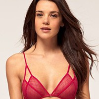 ASOS | ASOS Kiera Lattice Soft Triangle Bra at ASOS