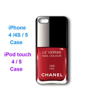 Iphone 5 Case -- Red Nail Polish,ma.. on Luulla