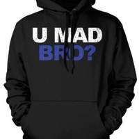 Amazon.com: (Cybertela) U Mad Bro? Sweatshirt Hoodie Funny Jersey Shore Hoody: Clothing