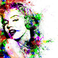 Marilyn Monroe. Art Print by David | Society6
