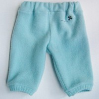 Refashioned Felted Wool Sweater Pants Size 0-3mo.
