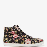 Floral Print High Tops