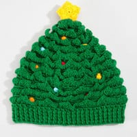 Festive Christmas Tree Hat