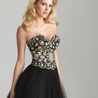 Night Moves Dress 6626 at Peaches Boutique