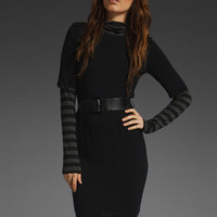 BAILEY 44 Strange Days Dress in Black &amp; Black Charcoal at Revolve Clothing - Free Shipping!