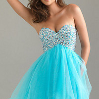 Short Mini Sleeveless Cocktail Evening Prom Dresses Ball Gown Stock Size 6 to 16