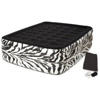 Amazon.com: Pure Comfort Waterproof Flock Top Zebra Bed: Sports & Outdoors