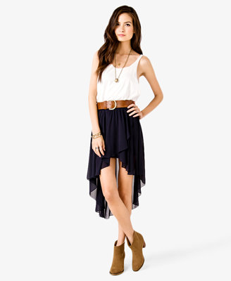 high low tulip skirt from forever 21 epic wishlist