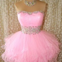 POSH PINK PROM PAGEANT S...