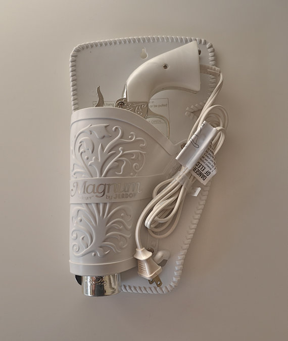 The 357 Magnum Gun Hair Dryer by Jerdon by PixelSicle on Etsy