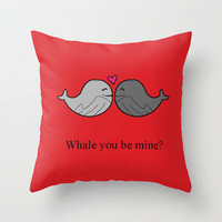 Valentine Throw Pillow by Rachel Goodson | Society6