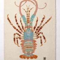Spiny Lobster Rug - Anthropologie.com