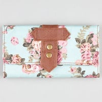 Floral Print Canvas Wallet 210737523 | Wallets | Tillys.com