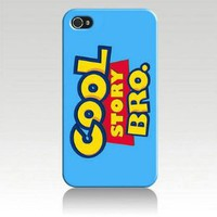 Cool Story Bro Cartoon Hard Case Skin for Iphone 5 At&t Sprint Verizon Retail Packaging