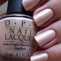 OPI Nail Polish Sand In My Suit B79 Nude Shimmer Discontinued RARE Hard to Find
