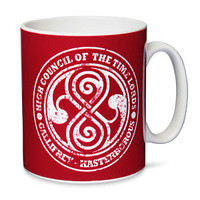 ThinkGeek :: Doctor Who High Council of the Time Lords mug