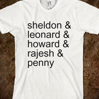 Big Bang Theory  - teeshirttime