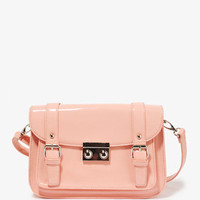 Patent Messenger Bag | FOREVER 21 - 1031556641