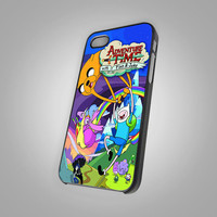 New The Adventure time Custom - KC New 089 - Design on Hard Cover - iPhone 4 / 4S Case, iPhone 5 Case