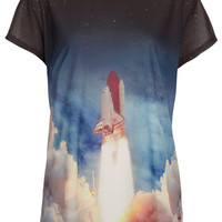 Lift Off Tee By Tee And Cake - New In This Week - New In - Topshop
