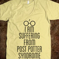 Post Potter Syndrome - Nerd Shirts