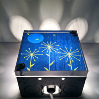 Fireflies Full Moons and Wishing Sticks Repurposed Light Box Lights