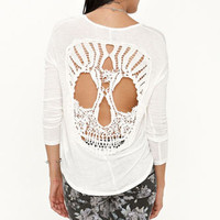 Nollie Skull Back Top