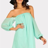 Desert Moon Dress - Mint